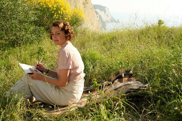 Keeley Hawes filming 'The Durrells' on Corfu