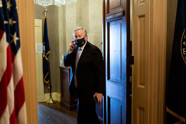 Mark Meadows, the White House chief of staff and a former House member from North Carolina, said he would not run for a Senate seat in the state.