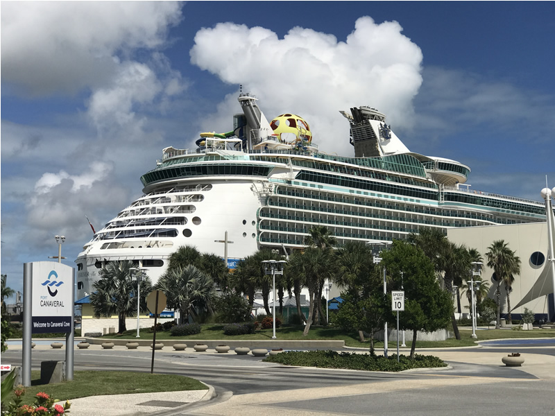 Mariner of the Seas at Port Canaveral