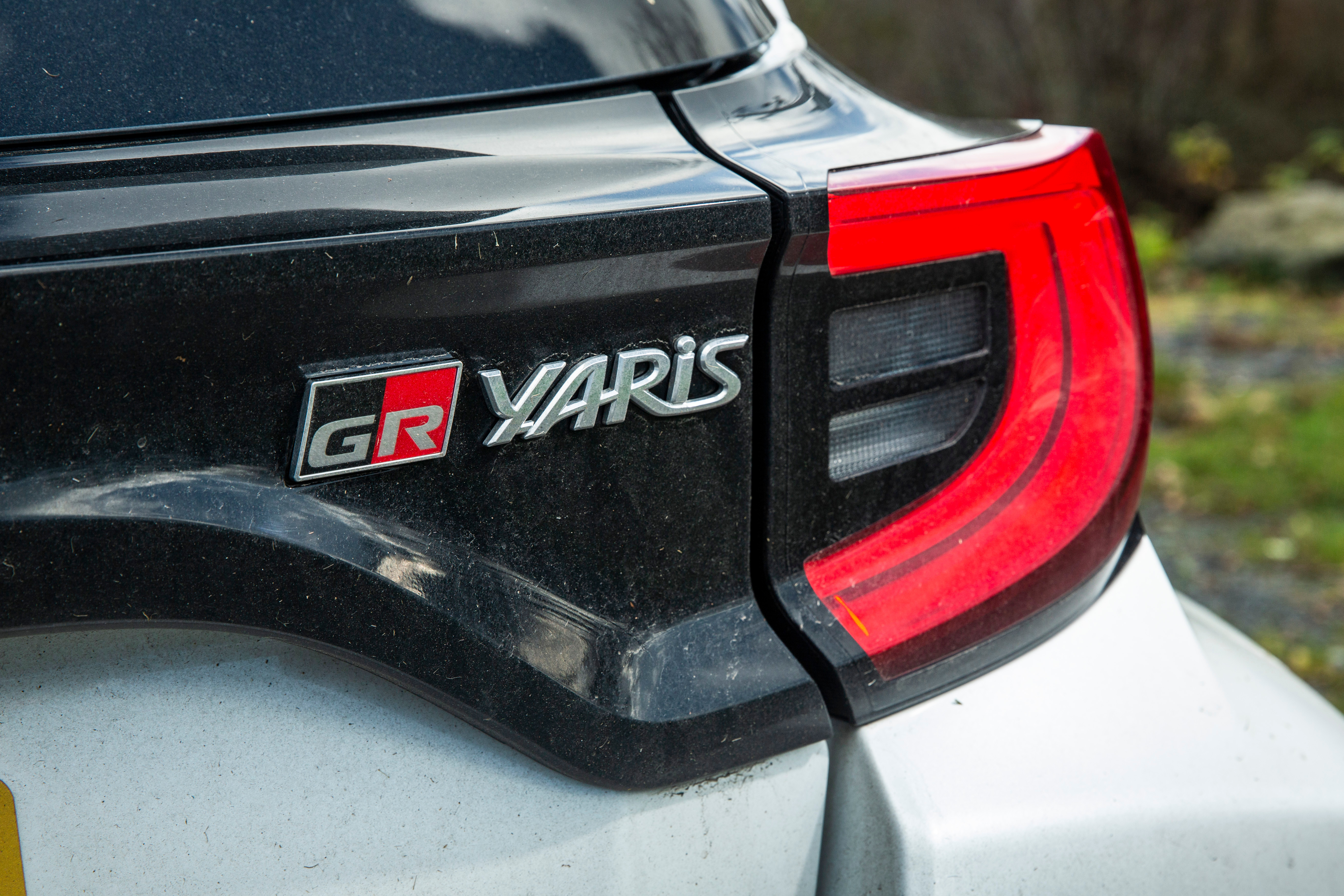 Note the letters GR, which stand for Gazoo Racing