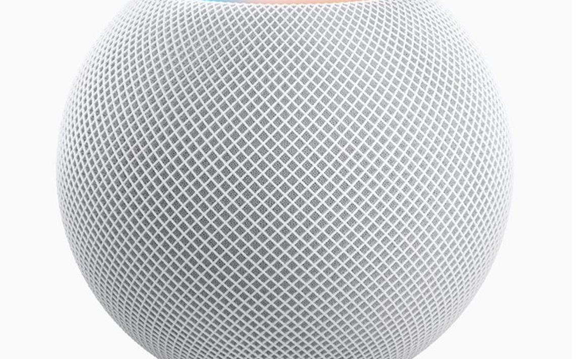The Apple HomePod. Image courtesy of Apple