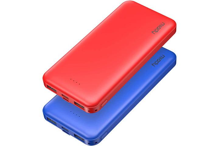 Miady 10000mAh Dual USB Portable Charger