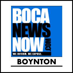 Boynton Beach News reporting from BocaNewsNow.com