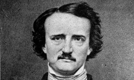 The author Edgar Allen Poe.