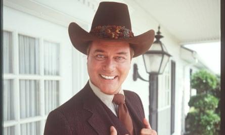 Larry Hagman starred as JR Ewing in the 80s classic Dallas