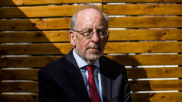 Former Irish Central Bank governor Patrick Honohan says it is a pity a way has not been found to work through the bad loans dating back to the past crisis. File photograph: The Irish Times