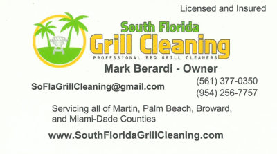 South Florida Grill Cleaning