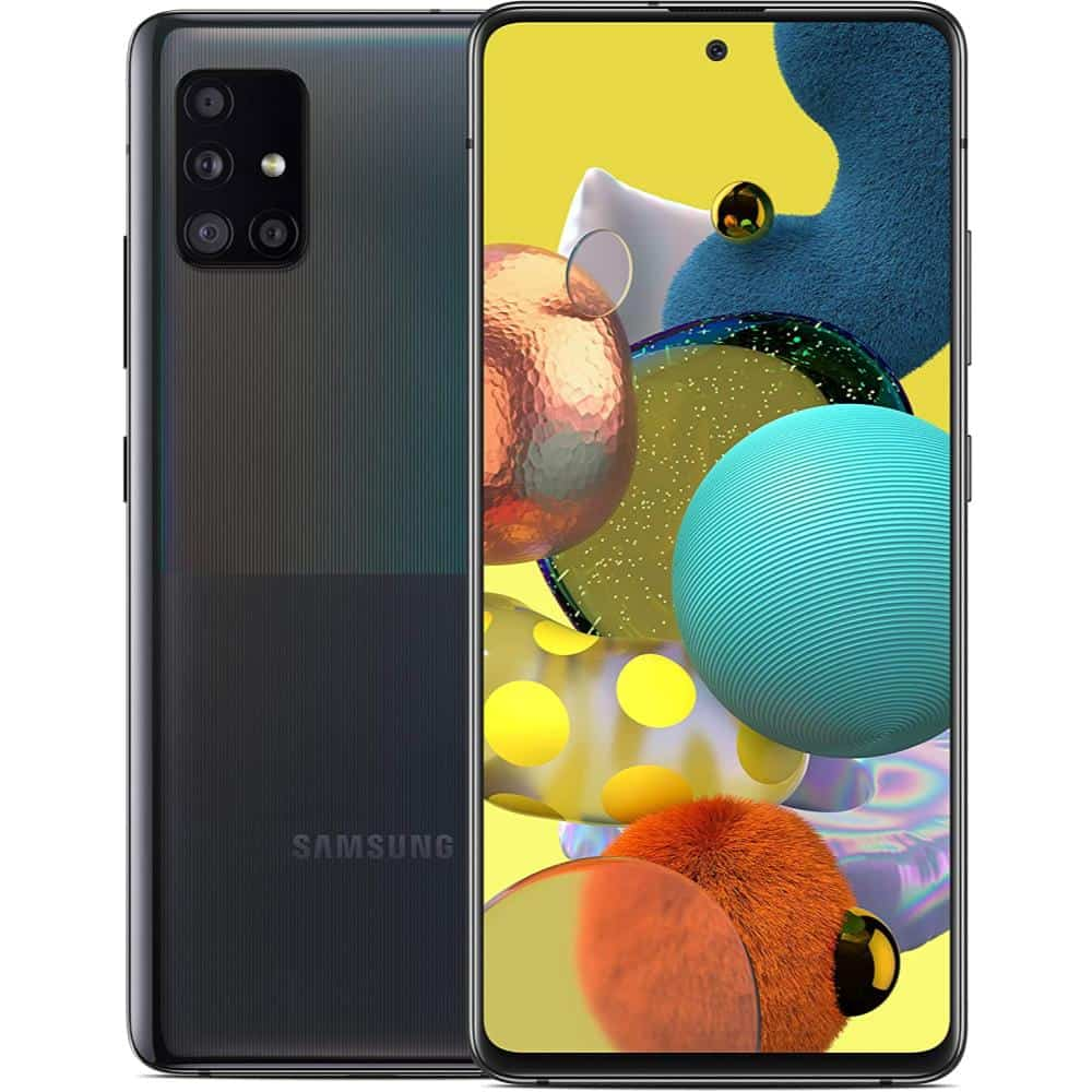 Samsung Galaxy A51 5G best 5G android smartphones