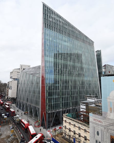 The Nova development in Victoria, London, where the National Cyber Security Centre (NCSC) is based.