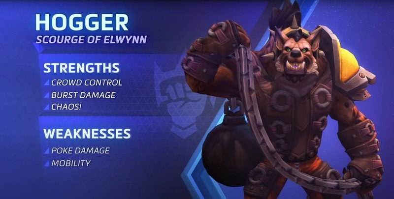 Heroes Of The Storm Hogger Hero