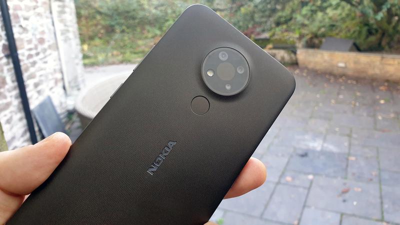 Nokia 3.4 smartphone review: Back