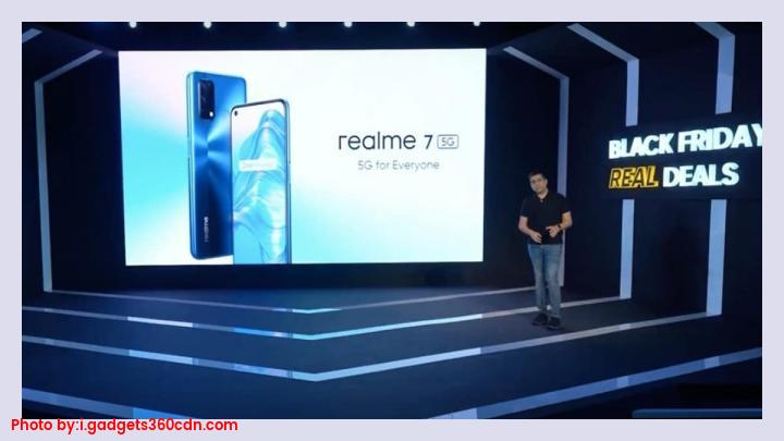 Realme 7 5G smartphone with quad rear cameras launched