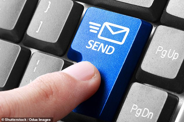 Everyone has done it - sending a quick email to say 'thanks' or 'no problem' to a work colleague. Research claimsif we all cut back on just one 'thank you' email per day could save over 16,000 tonnes of carbon a year, according to a study (stock)