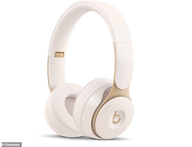Beats latest noise-cancelling on-ear headphones the Beats Solo Pro are now 41 per cent off in Amazon's Black Friday sale