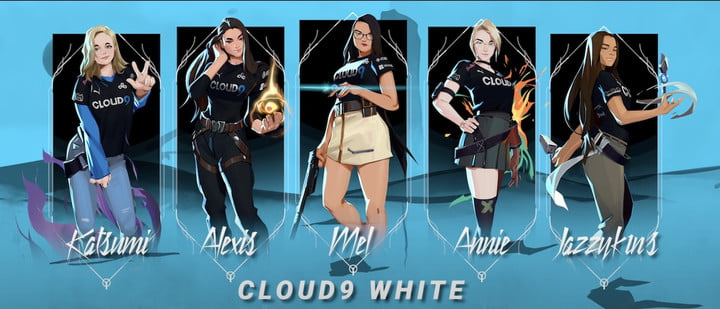 Cloud9 White roster