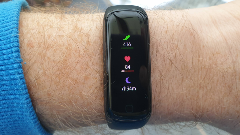 Samsung Galaxy Fit 2 review: Display