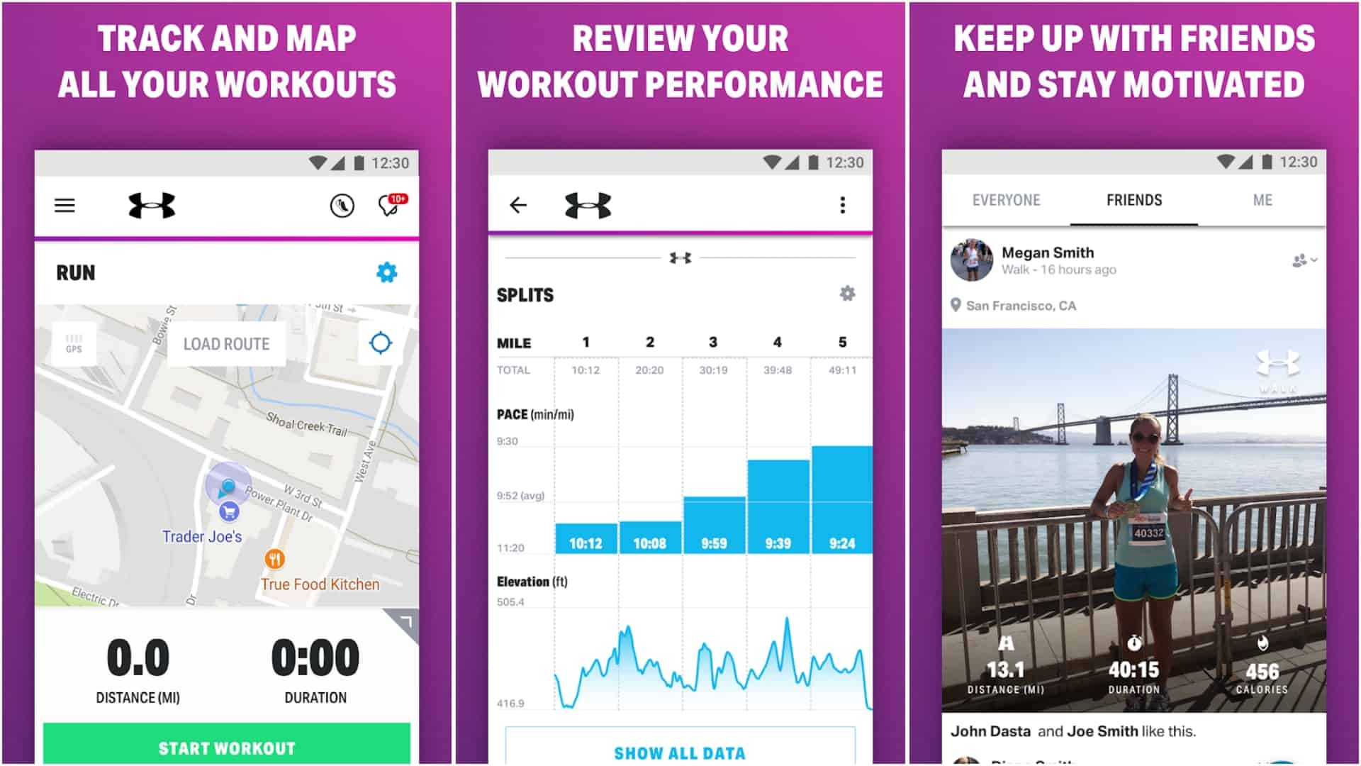 Walk with Map My Walk app image April 2020