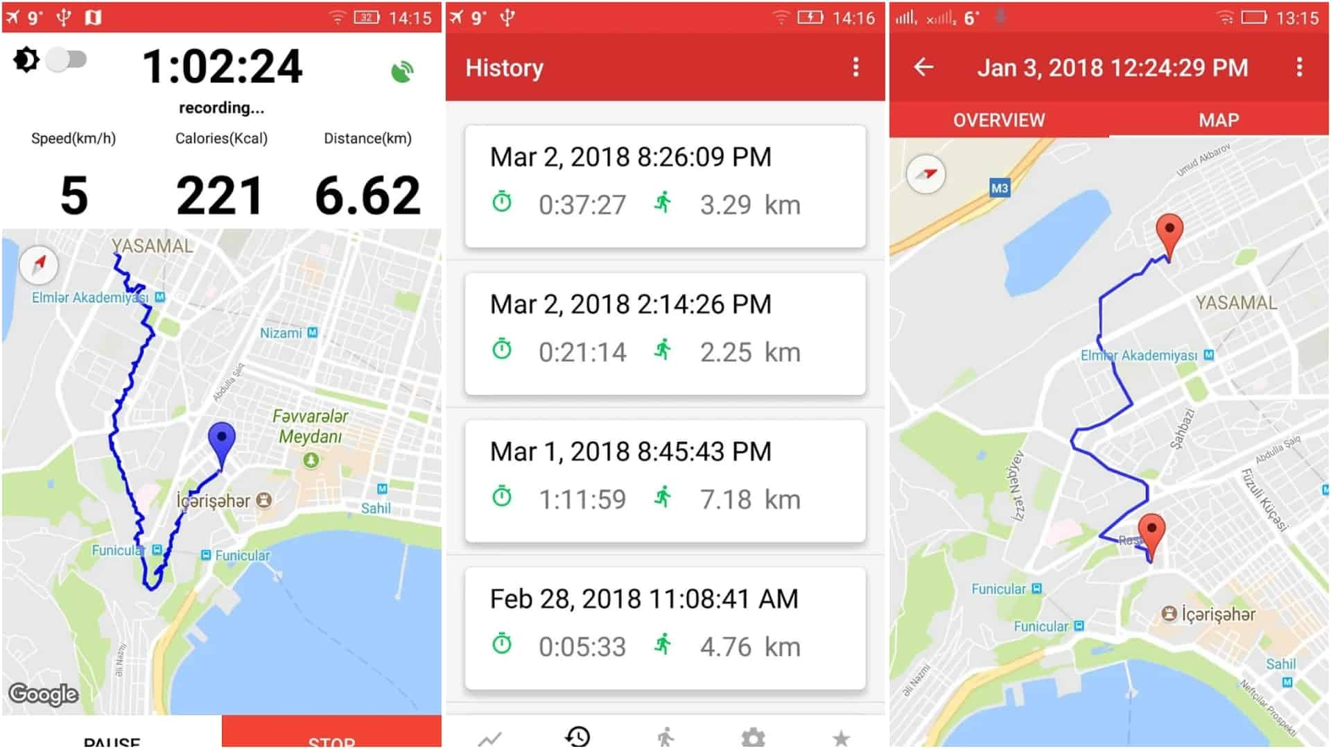 Walking for Weight Loss Pedometer Step Counter app image April 2020