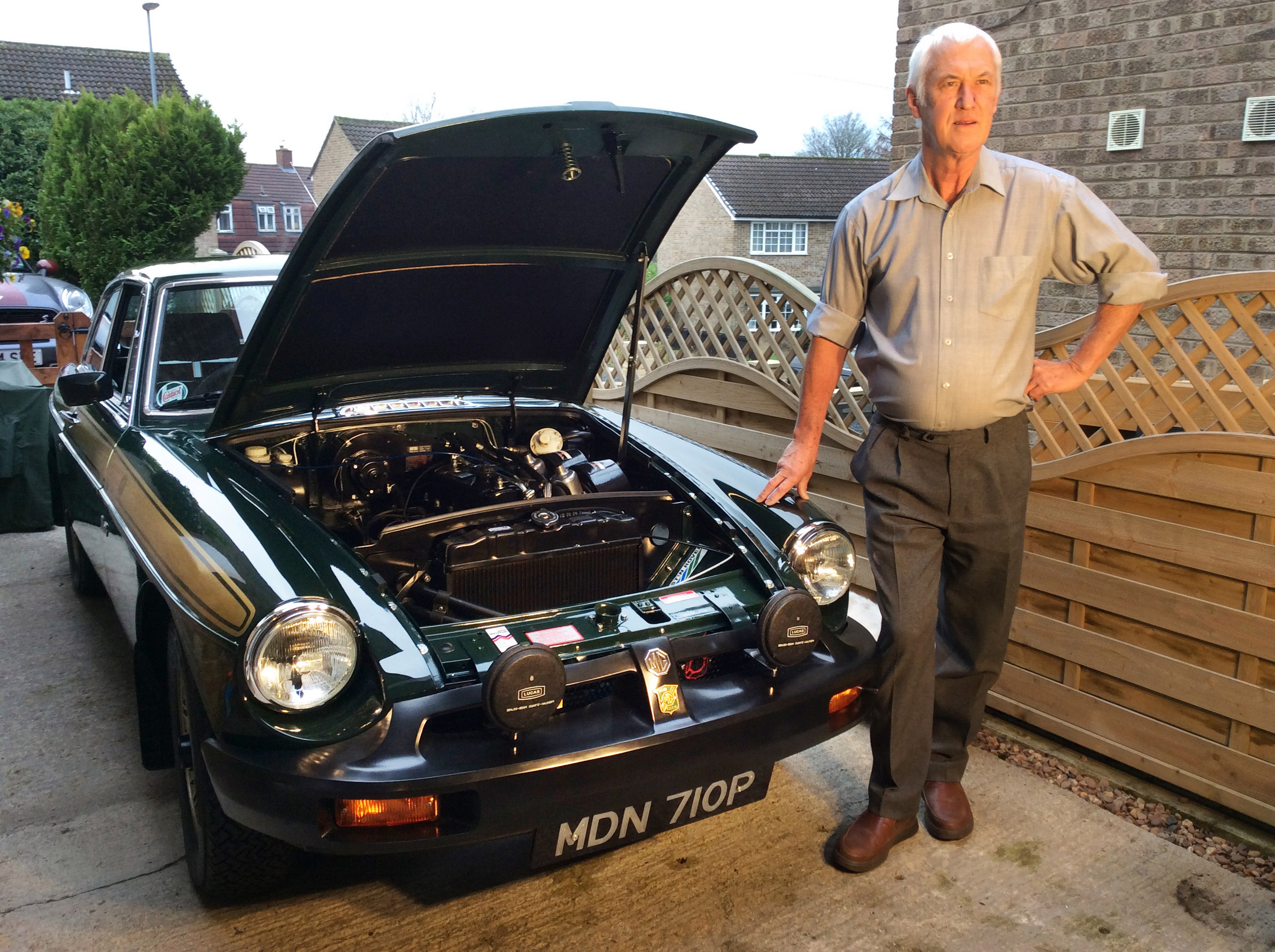 Since repurchasing it, he's spent £3,500 on restorations