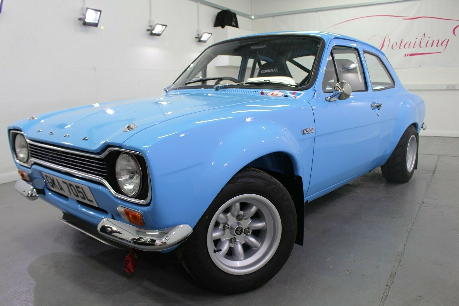 A classic Ford Escort went on sale for a staggering £125,000 recently – 100 times its original price tag