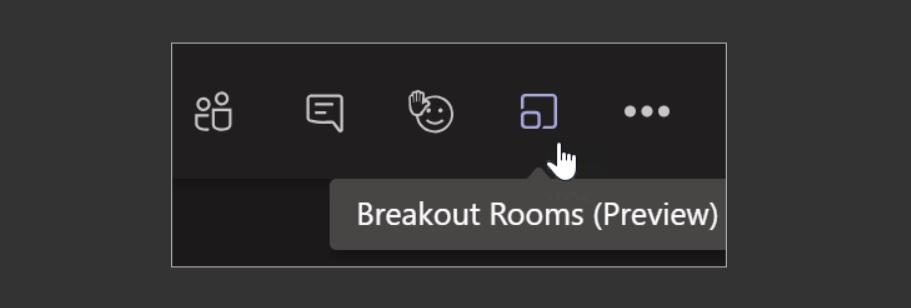 Teams breakout rooms