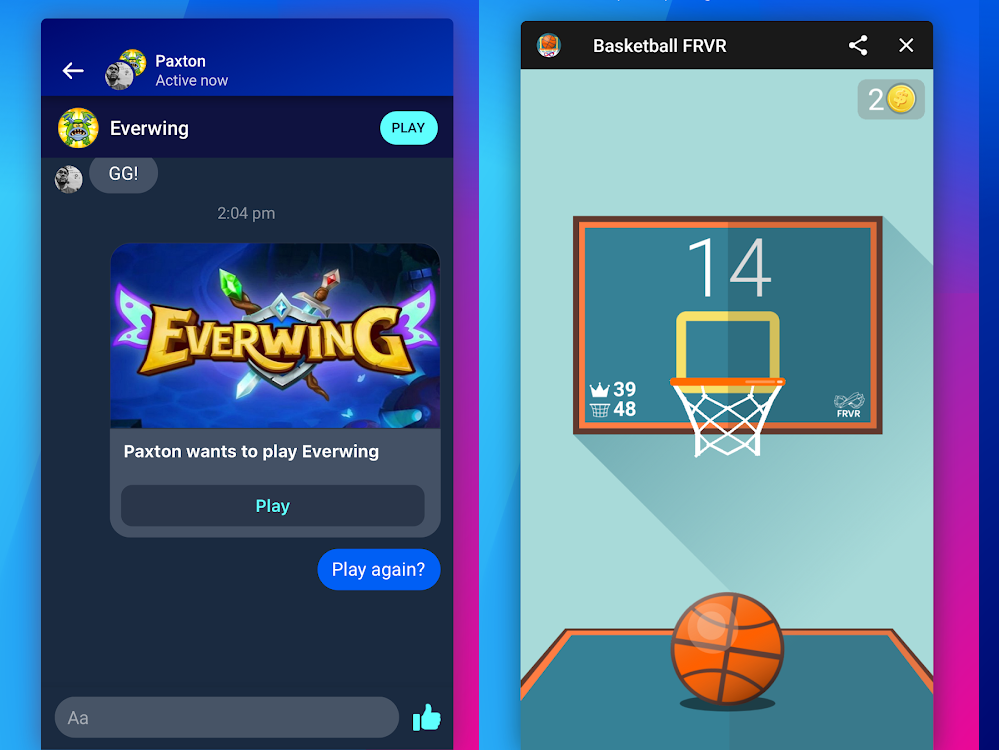 Facebook Gaming free games