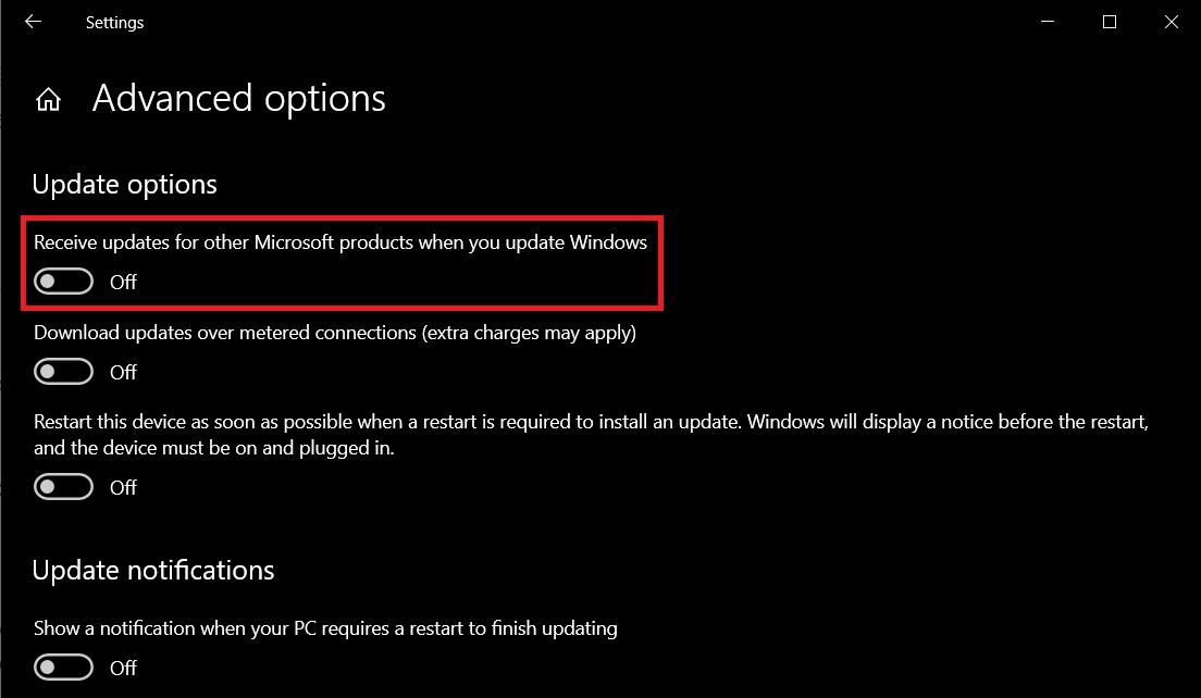 Microsoft product updates