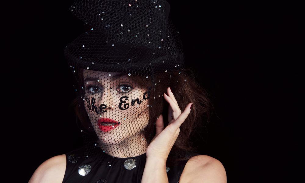 Helena Bonham Carter shot by Gustavo Papaleo for Guardian Weekend magazine
