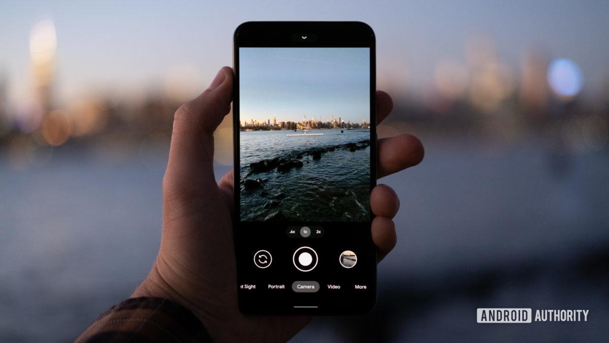 Google Pixel 5 camera against ocean 1