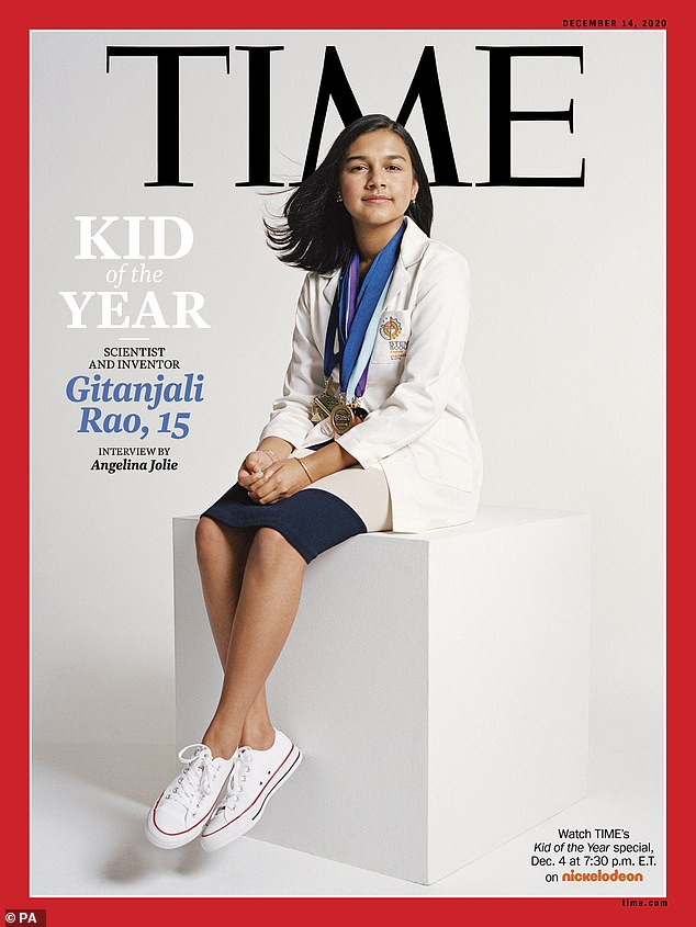 TIME Magazine has announced its first-ever Kid of the Year – 15-year-old scientist and inventor Gitanjali Rao. Rao's love for science began at the age of 10 when she discovered carbon nanotube sensor technology, which uses molecules to detect chemicals in water - and her passion grew from there