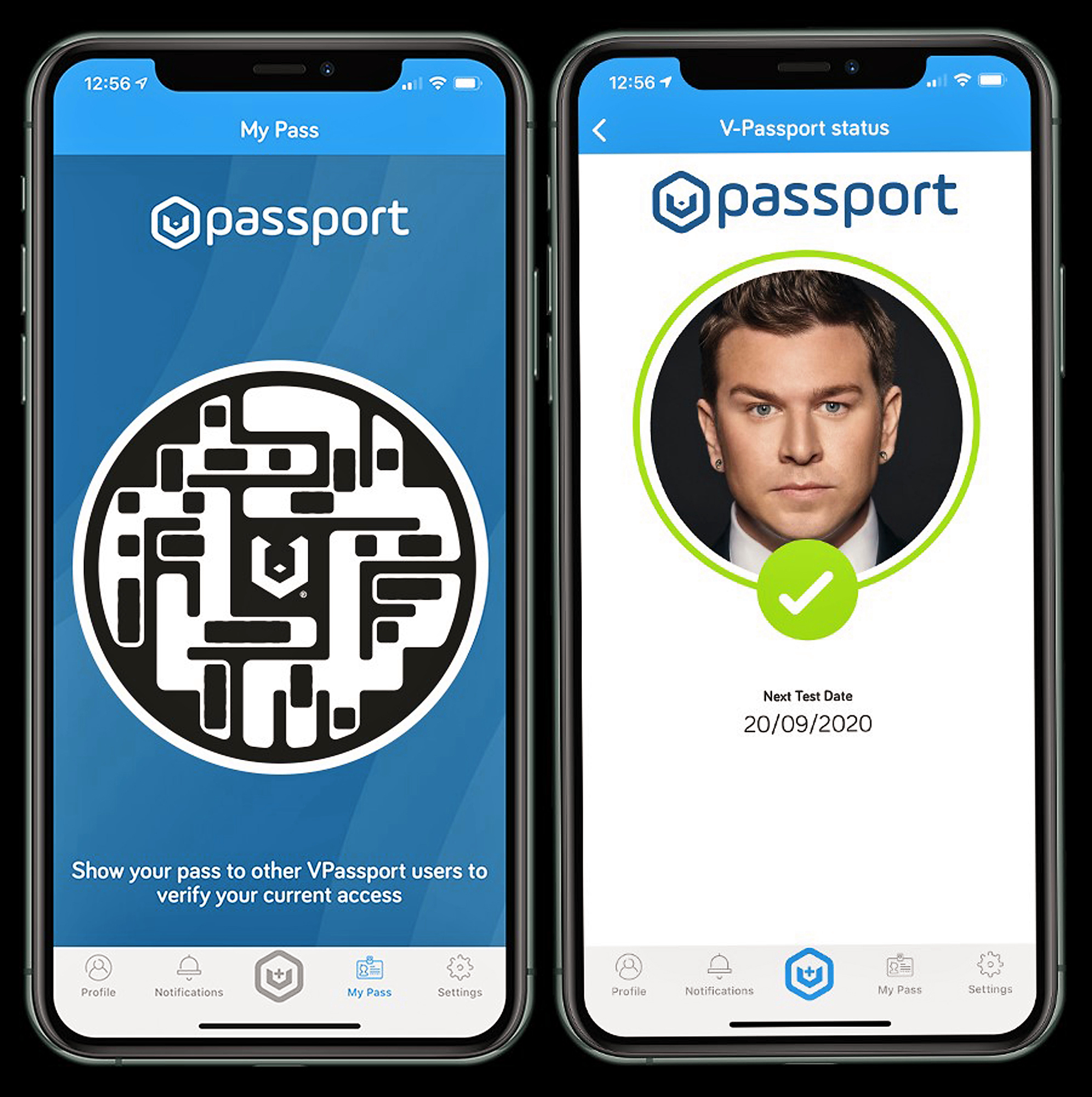 A tech expert has developed a 'health passport' on phones that could allow vaccinated Brits back to bars, restaurants, theatres and sporting events