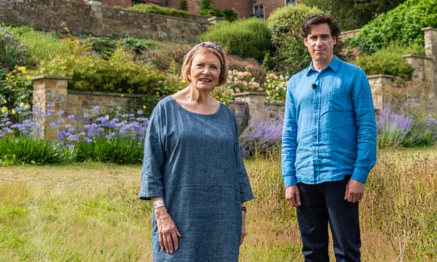 'I do have opinions. I bite my lip before we get to the results': with Stephen Mangan for Landscape Artist of the Year.