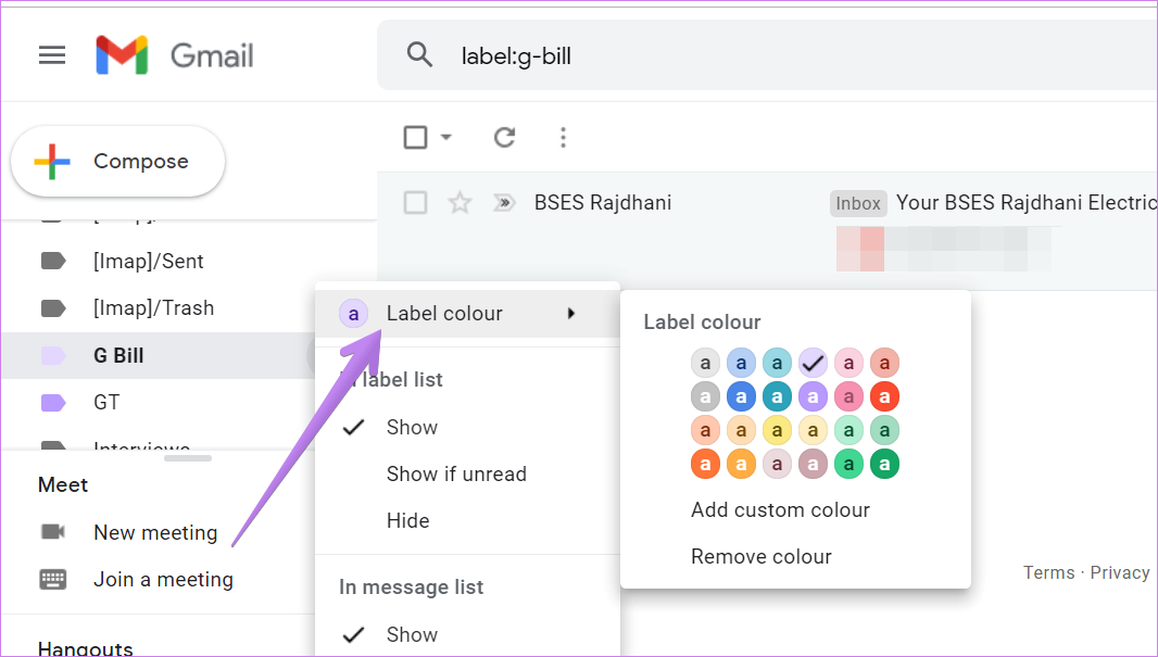 Organize gmail labels 10