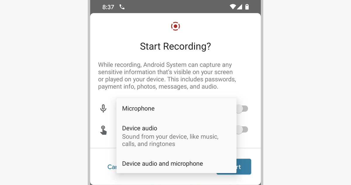 14 android 11 screen recorder