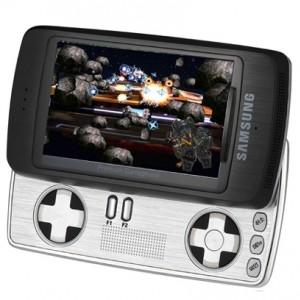 The Samsung SPH-B5200 had a weird dual-slider design