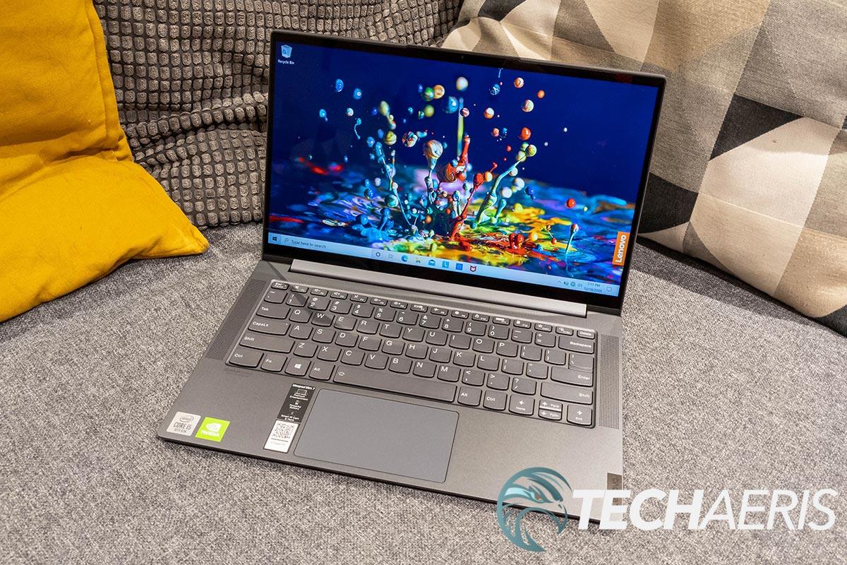 The Lenovo IdeaPad Slim 7 14-inch Intel laptop