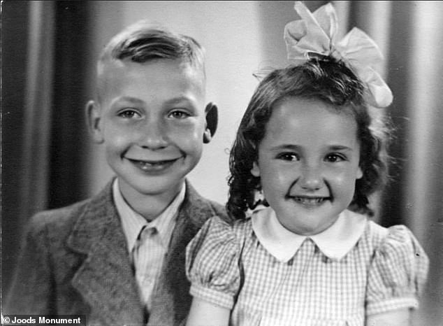 Deddie Zak was nine years old when he was murdered at the camp (left)