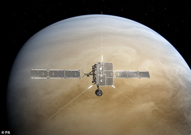 The European Space Agency's Solar Orbiter passes by Venus. In a new report, astronomers at the University of Washington say it's notphosphine above the second planet, but rather sulfer dioxide