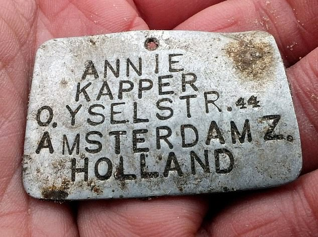 Metal tags belonging to four children murdered at the Sobibor Nazi death camp have been found.Annie Kaper was 12 years old when she was sent to Sobibor on a train with a total of 1,255 Jews. The moment the train arrived, all of the passengers were immediately sent to gas chambers and Kaper's tag was found in a mass grave