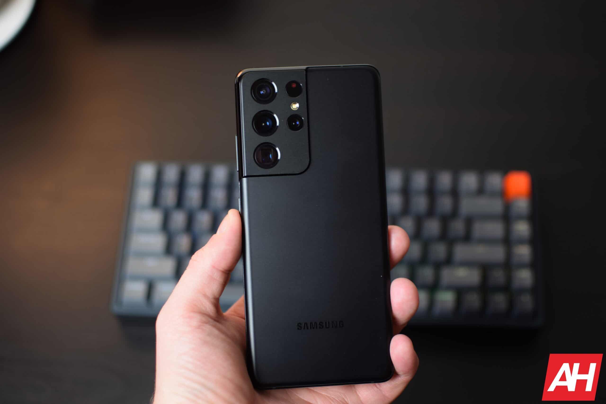 Samsung Galaxy S21 Ultra Hands On AH 7