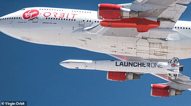 Virgin One's LauncherOne is set to take off from California's Mojave Air and Space Port on January 17 between 10am and 2pm local time