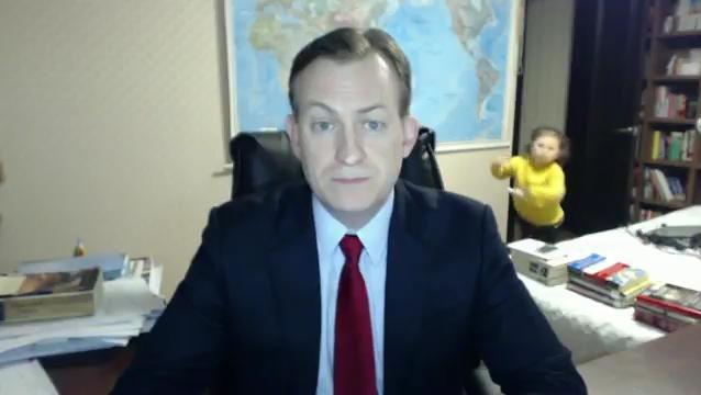 Prof Robert Kelly went viral after his children burst in during a discussion on North Korea