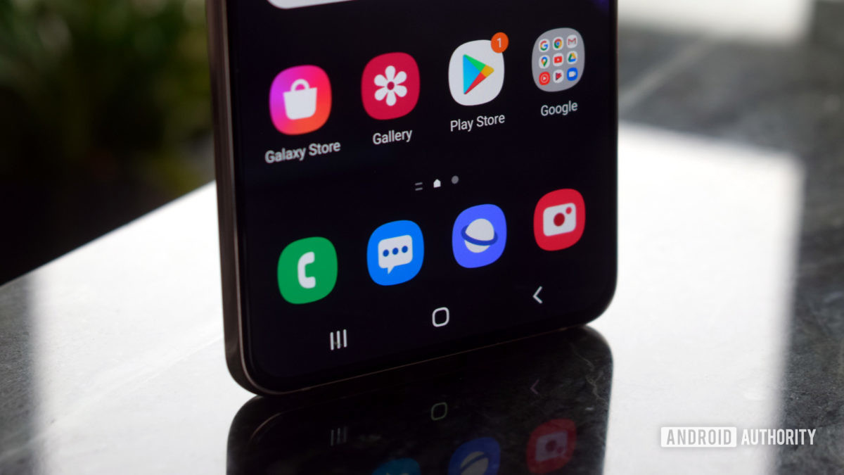 Samsung Galaxy S21 Plus apps