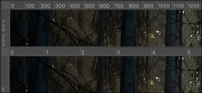 ruler pixels inches