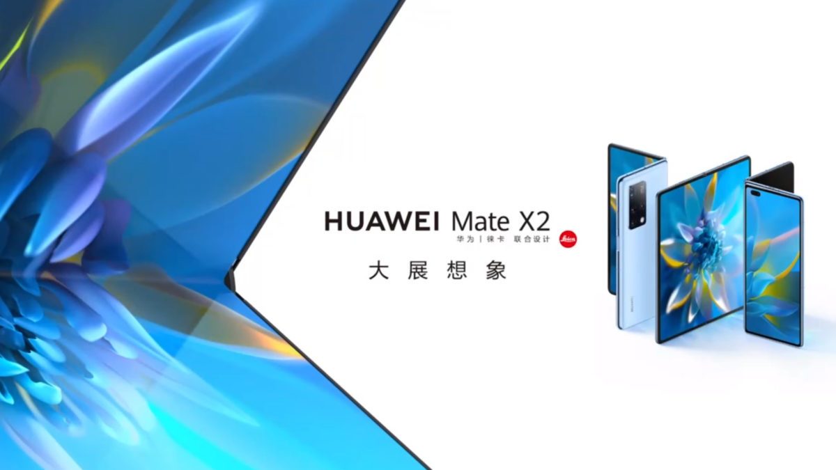 Huawei Mate X2 official
