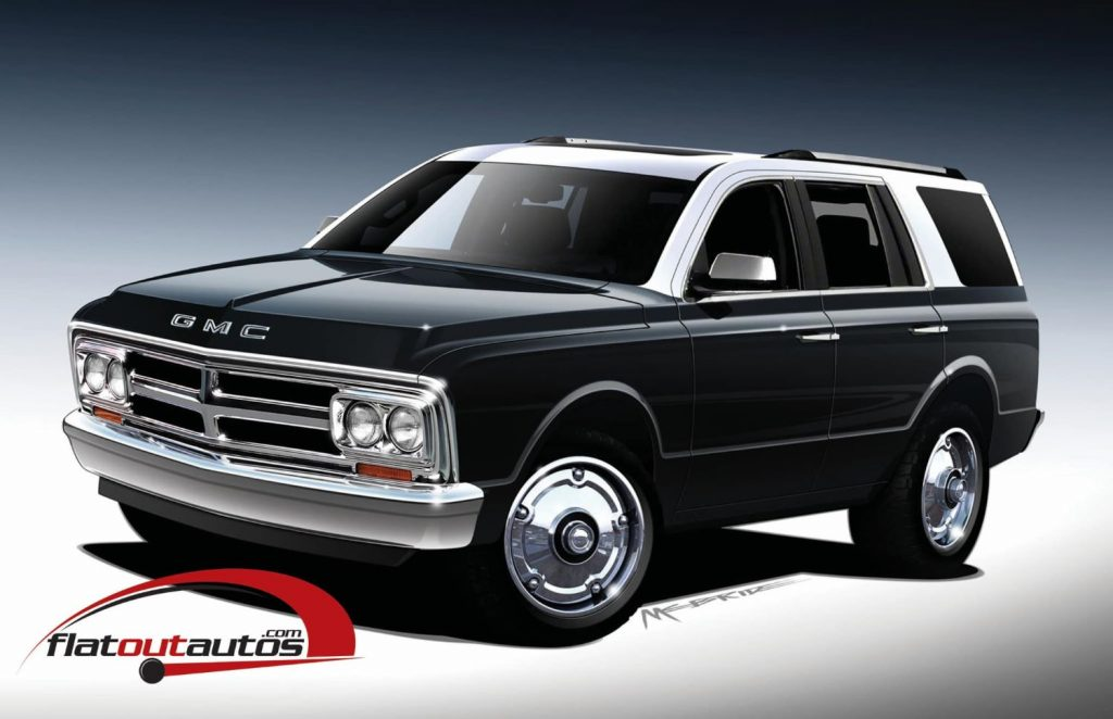 Flat Out Autos GMC Jimmy Rendering