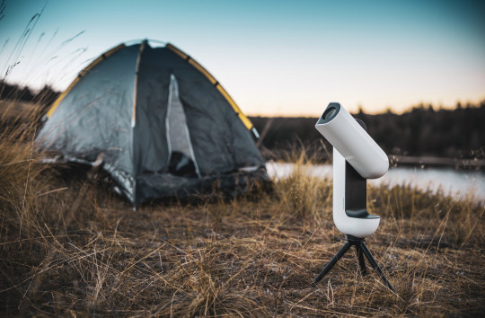 The Vespera is controlled by a smartphone app and uses GPS to pinpoint celestial objects in the night sky (Credits: Paul Thibault)