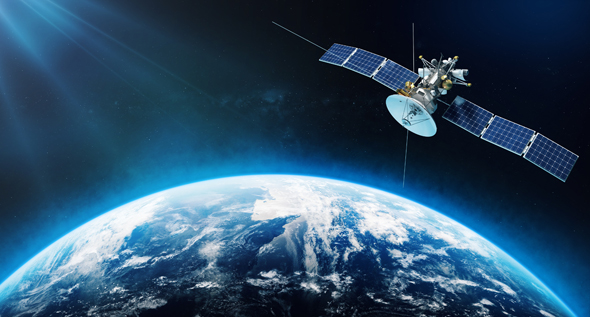 The company's satellites fly in lower-earth orbit which allows for more robust high-speed broadband connectivity (illustration). Photo: Shutterstock