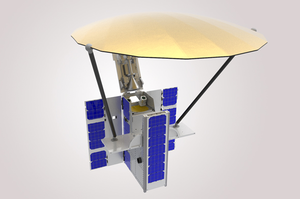 NSLComm's satellites are shoebox-sized yet provide the same capabilities as larger versions