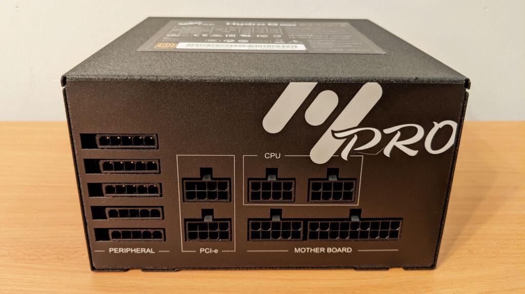 FSP Hydro G Pro 750W PSU Modular Cable Connectors
